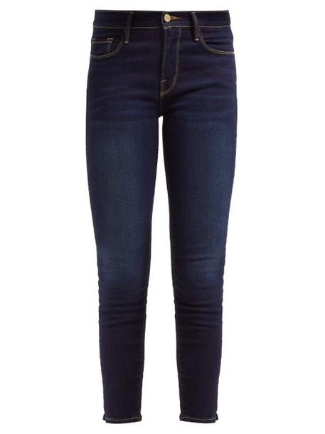 Frame - Le Skinny De Jeanne Skinny Jeans - Womens - Dark Indigo