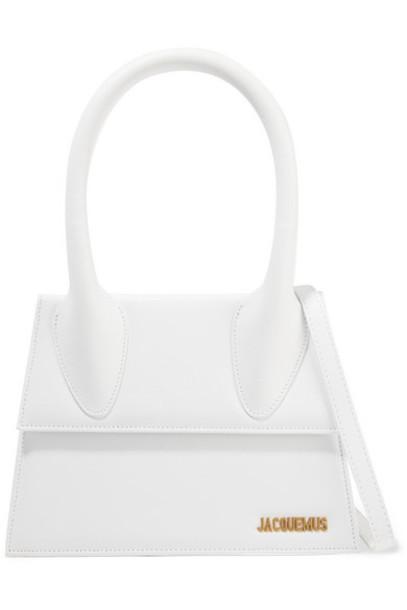 Jacquemus - Le Grand Chiquito Leather Shoulder Bag - White
