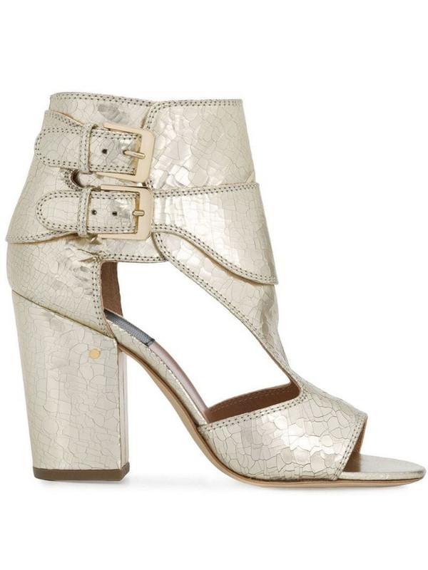 Laurence Dacade Rush buckled sandals in metallic