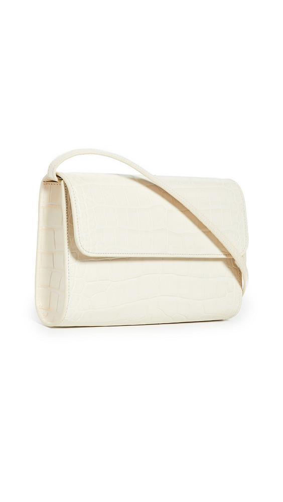 By Far Crossover Bag in cream