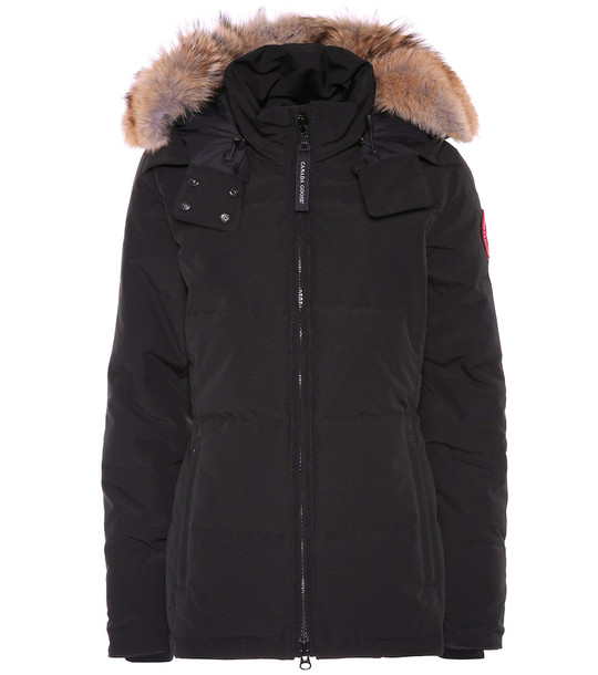 Canada Goose Chelsea down parka in black