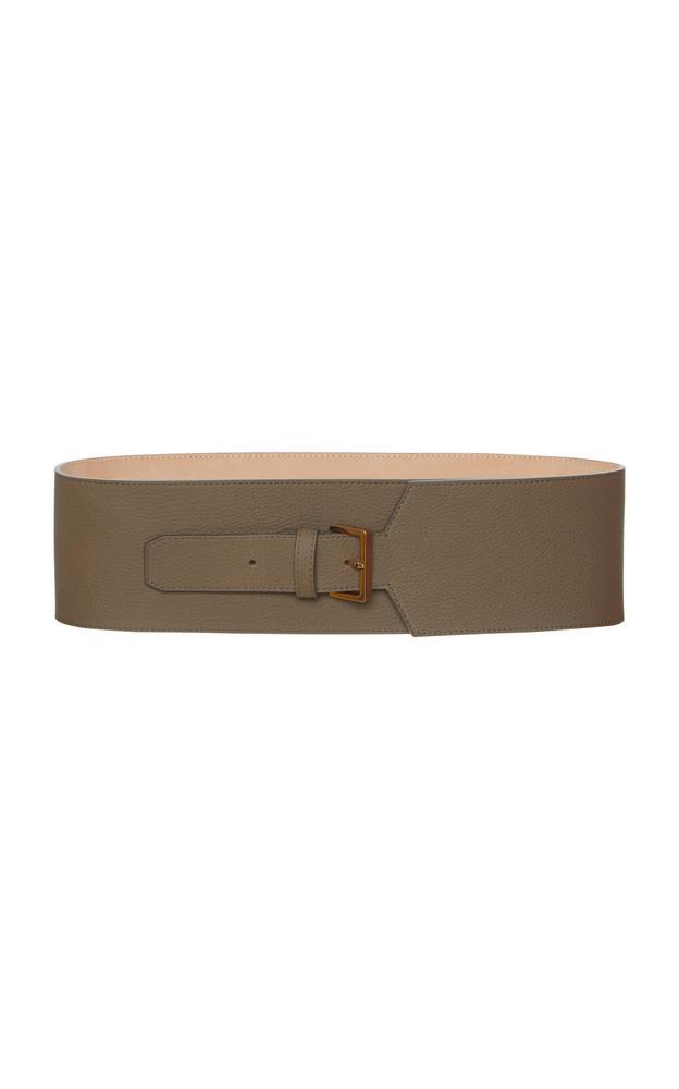 Agnona Corset Belt in grey