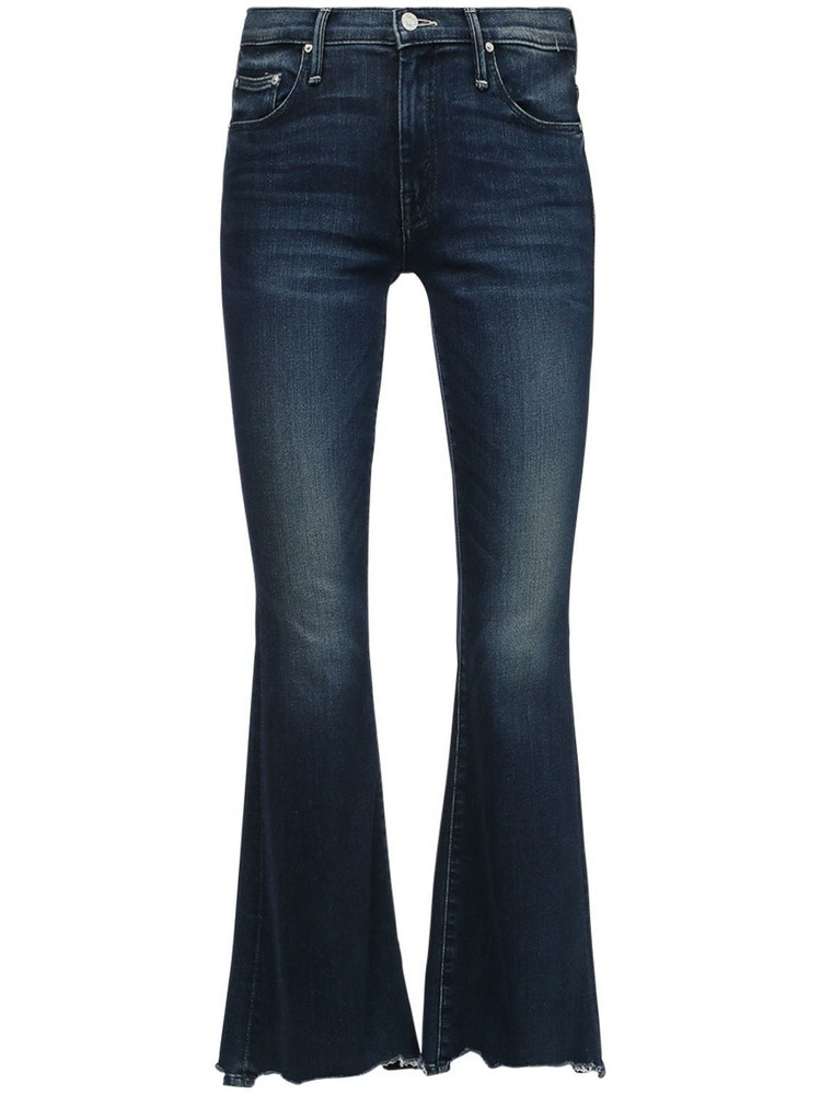 MOTHER The Weekender Flared Jeans in blue