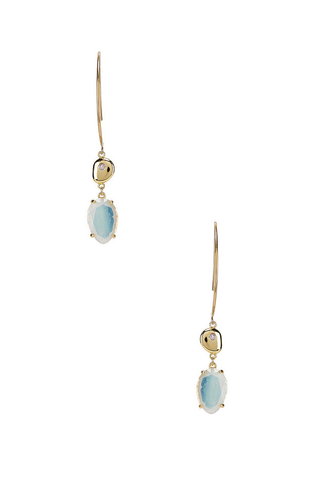 Wanderlust + Co Seek for Light Earrings in gold / metallic