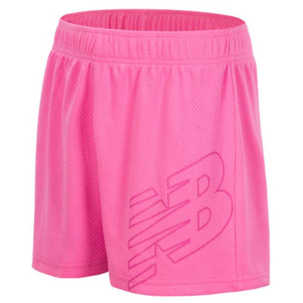 New Balance 18229 Kids' Core Performance Short - Pink (GS18229PEO)