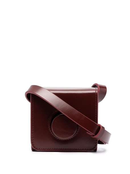 Lemaire mini Camera bag in red