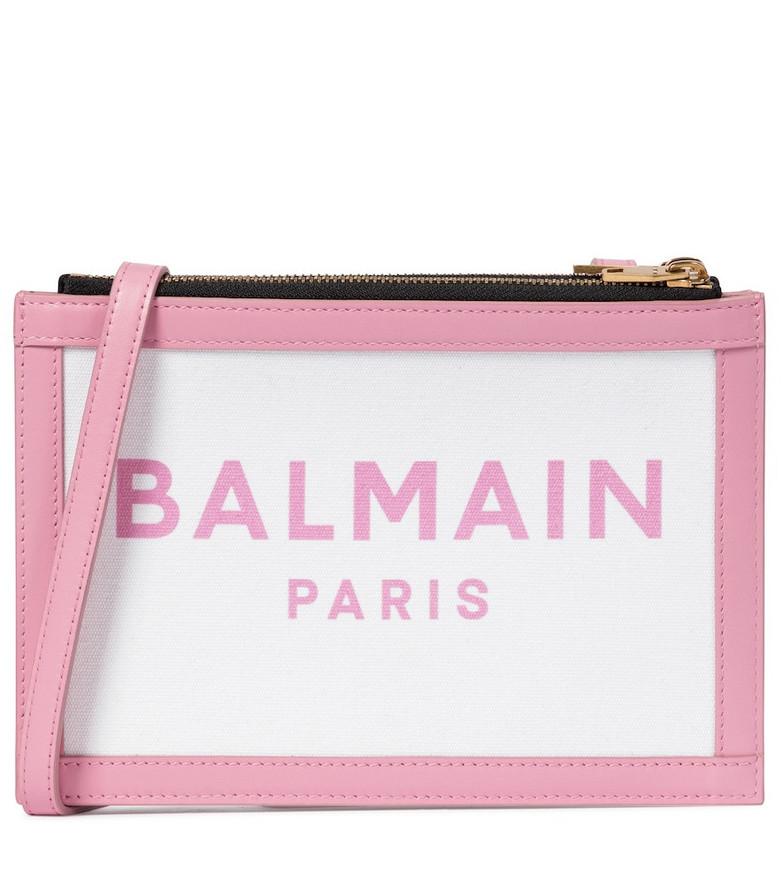 Balmain Three Pouches 22 crossbody bag in pink