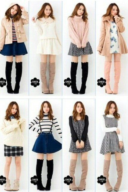 sweater light pink asian fashion