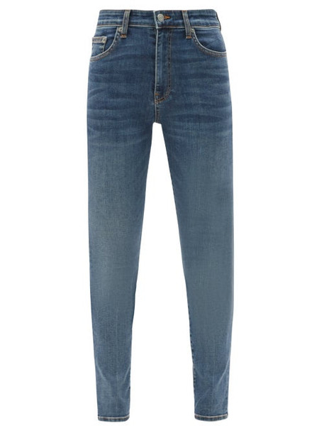 Brock Collection - James High-rise Slim-leg Jeans - Womens - Denim