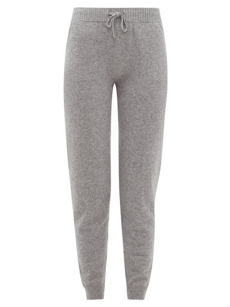 Derek Rose - Finley Cashmere Track Pants - Womens - Grey