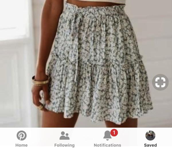 skirt hollister green help me find