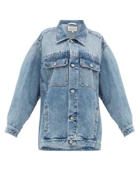 Maison Margiela - Oversized Denim Jacket - Womens - Denim