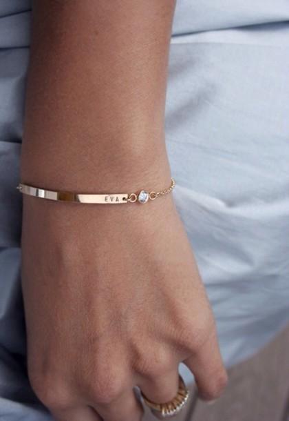 jewels customized bracelets gold gold chain bracelet diamond name engraved bracelets ankle bracelet dimonds