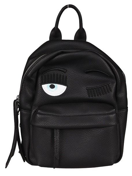 Chiara Ferragni Eye Design Backpack in black