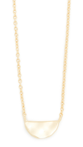 Gorjana Luca Charm Necklace in gold