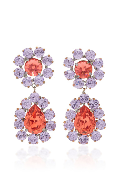 Roxanne Assoulin Over The Top but Not Rose Earrings in pink