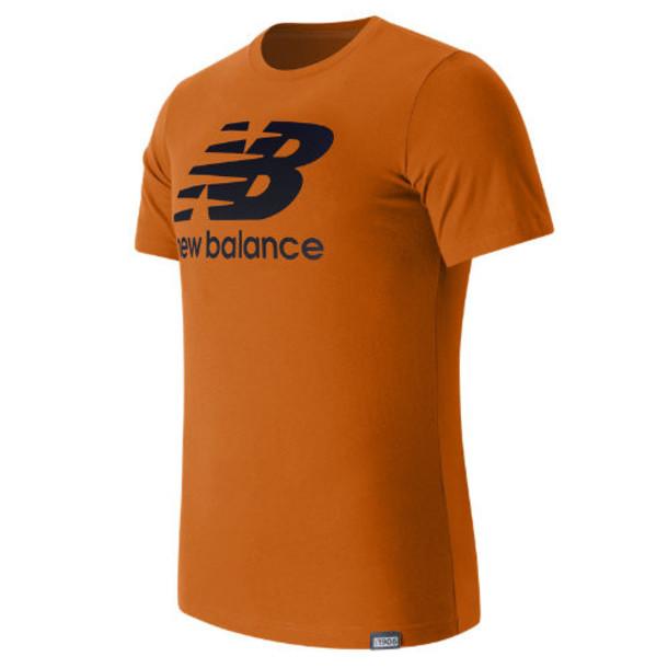 New Balance 63554 Men's Classic SS Logo Tee - Orange (MT63554SPT)