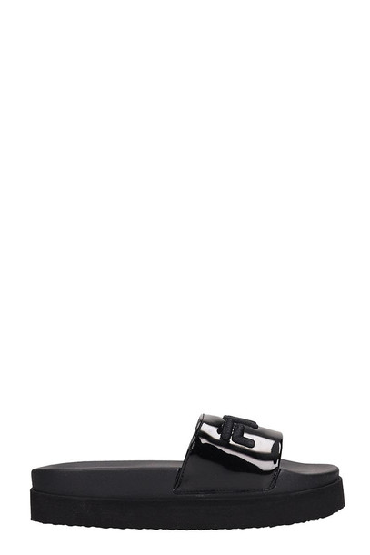 Fila Black Rubber Morro Sandals
