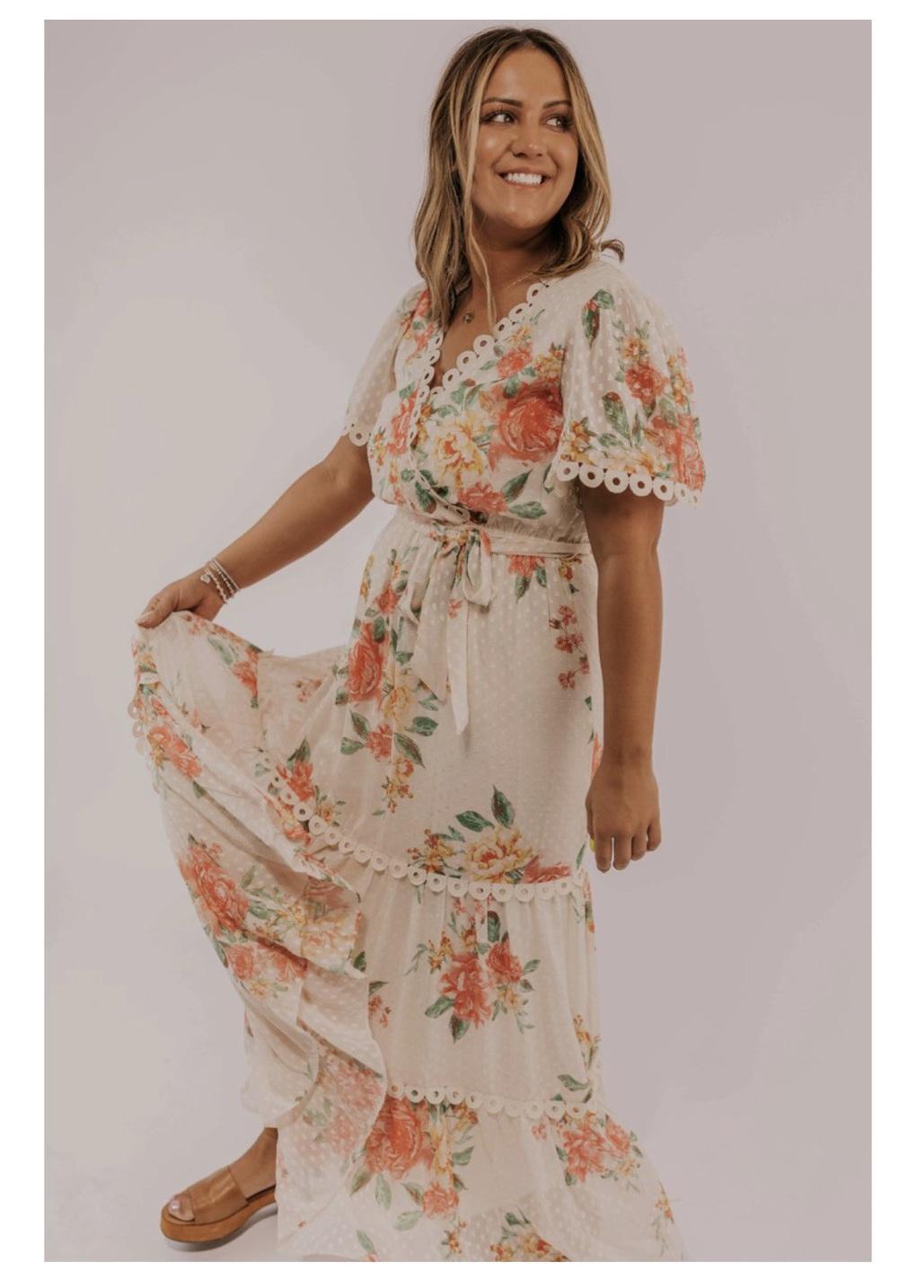 dress floral dress lace dress