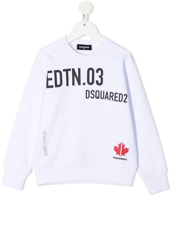 Dsquared2 Kids logo-print sweatshirt