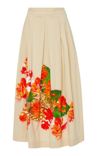 Isolda Rio Baskets Skirt in neutral