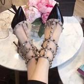 shoes,Valentino,rockstud