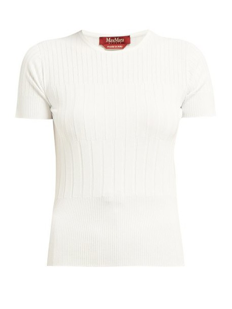 Max Mara Studio - Eloise Top - Womens - White