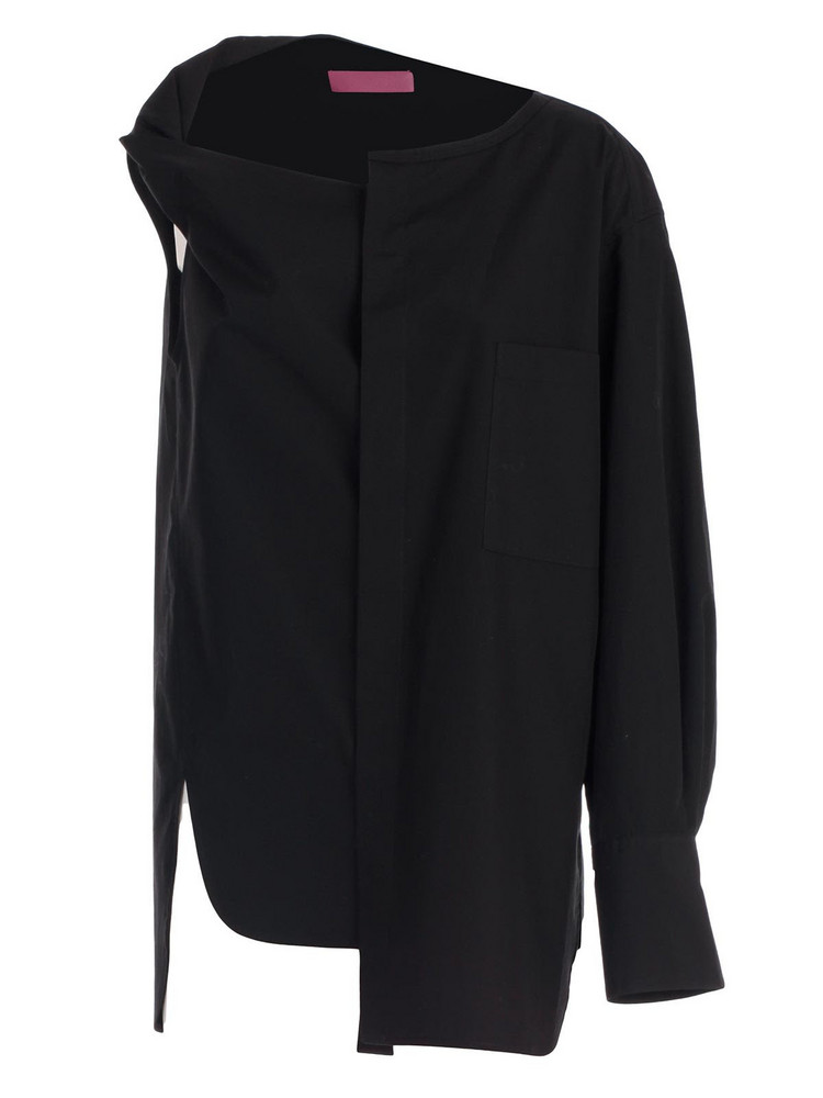 Y's Asymmetric Top in black