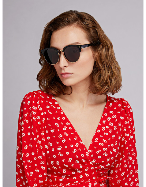 Stella Mccartney Cat-eye Sunglasses Black