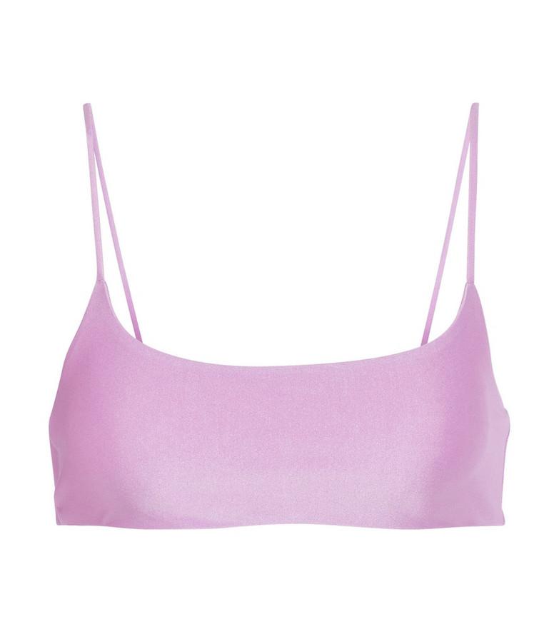 Jade Swim Exclusive to Mytheresa – Muse bikini top in purple