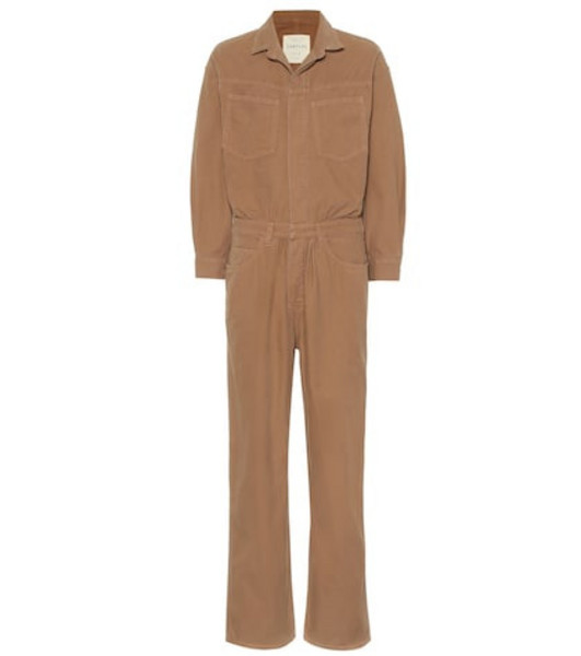 Citizens of Humanity Amber denim jumpsuit in brown