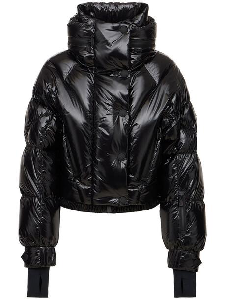 MONCLER GRENOBLE Plumel Technic Nylon Down Jacket in black