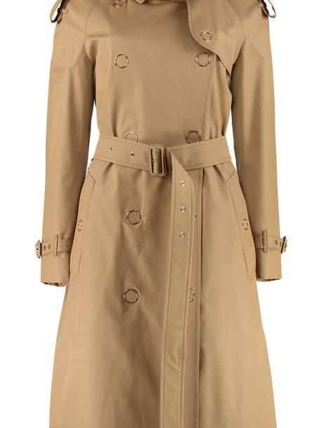 Burberry Gabardine Trench Coat in beige