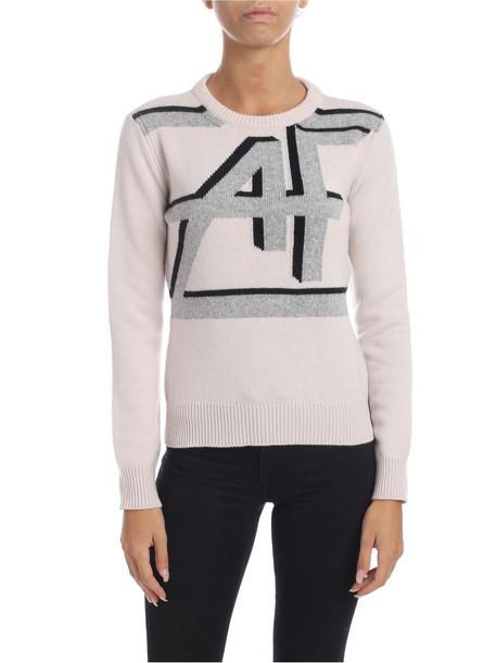 Alberta Ferretti - Af Inlay Sweater in cream