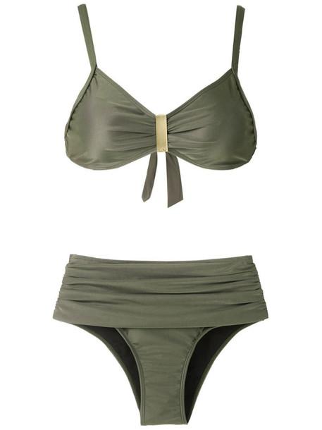 Lygia & Nanny Anne bikini set in green