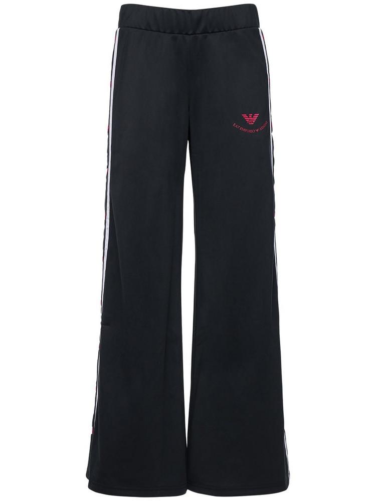 EA7 EMPORIO ARMANI Train College Dept Acetate Pants in black