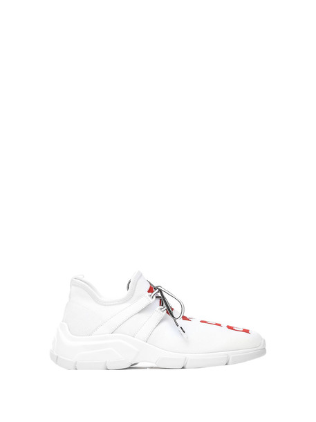 Prada Prada White Knit Sneakers