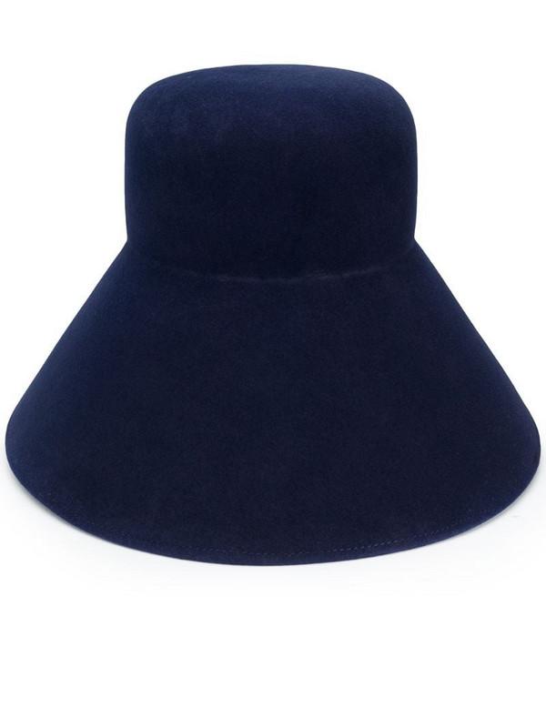Nina Ricci high bucket hat in blue