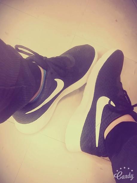 shoes black nike shoes
