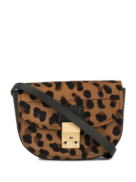 3.1 Phillip Lim leopard Pashli mini belt bag in brown