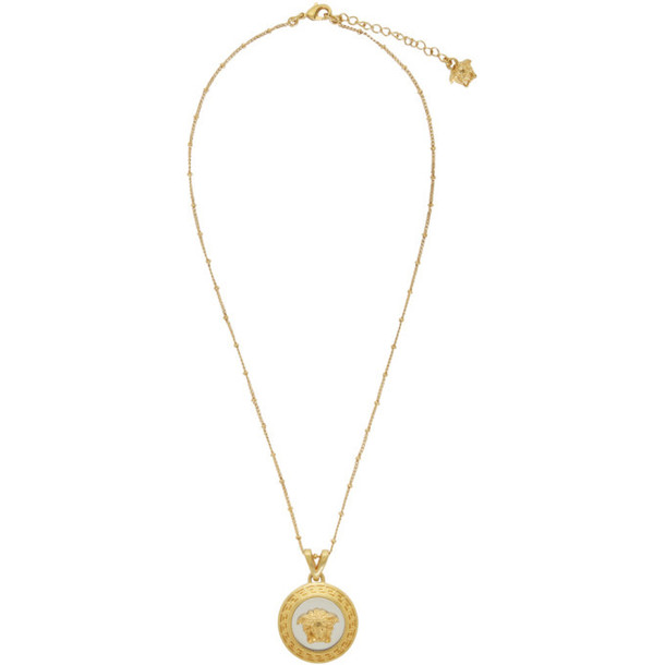 Versace Gold and Silver Icon Medusa Necklace