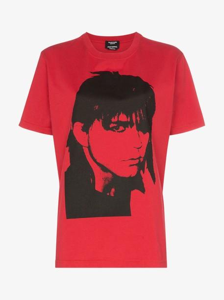 Calvin Klein 205W39nyc portrait print cotton T-shirt
