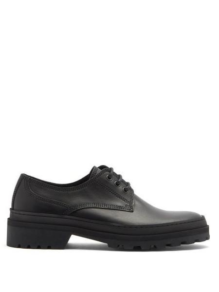 A.P.C. A.P.C. - Clem Leather Derby Shoes - Womens - Black