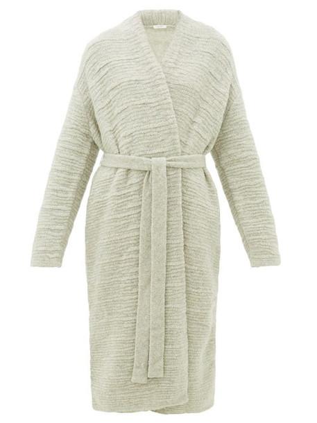 The Row - Atra Bouclé Wool-blend Cardigan - Womens - Light Grey
