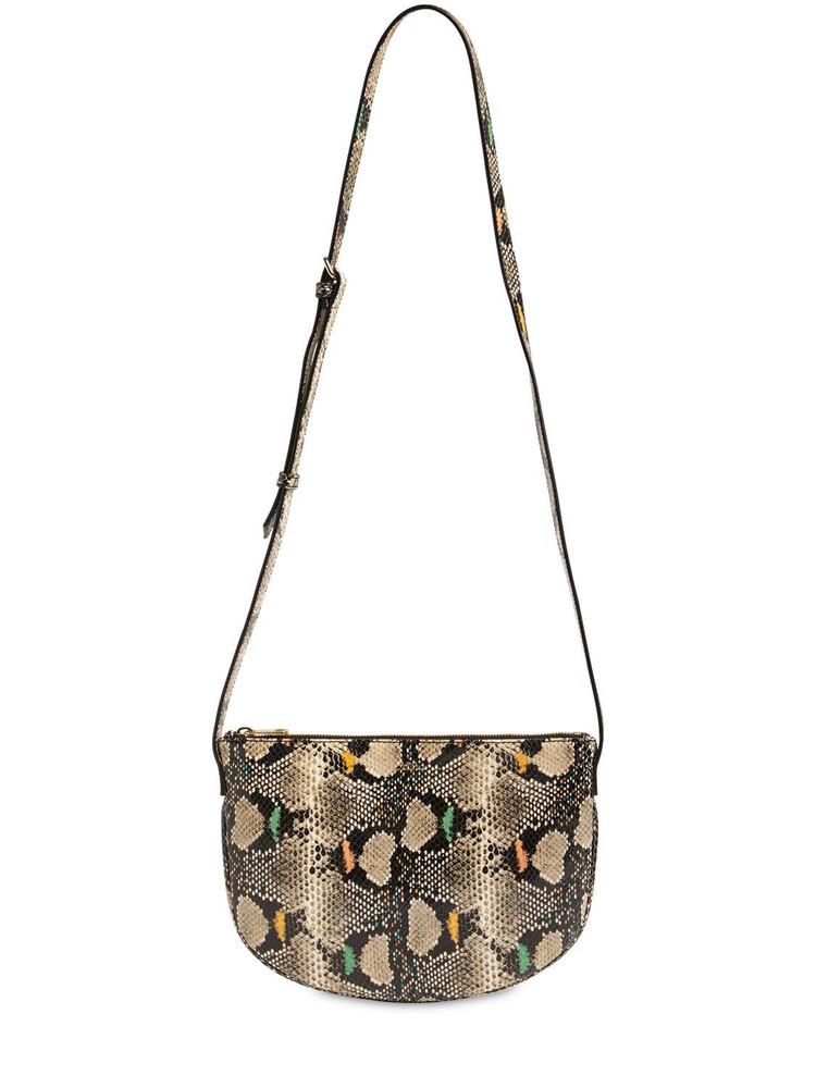 A.P.C. Sac Maelys Python Print Leather Bag