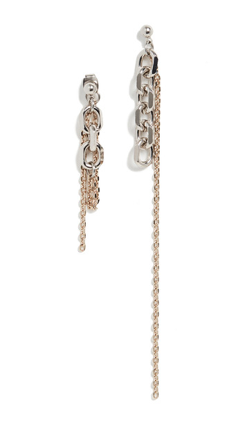 Justine Clenquet Dana Earrings in gold
