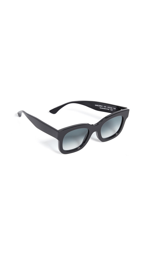 Thierry Lasry Unicorny 101 Sunglasses in black / grey