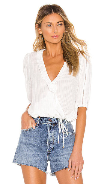 HEARTLOOM Cole Blouse in White