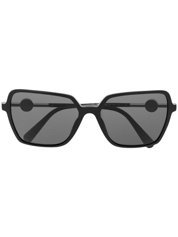 Versace Eyewear Medusa square-frame sunglasses in black
