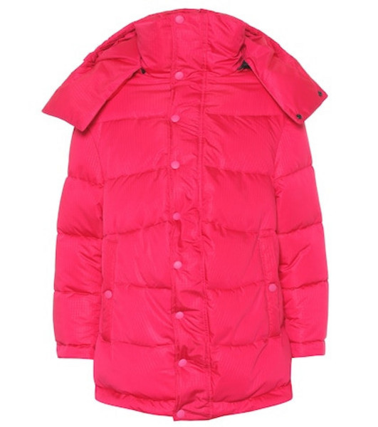 Balenciaga New Swing puffer jacket in pink